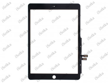 Тачскрин для Apple iPad 7 10.2 (A2200/ A2198 /A2197) (черный) copy