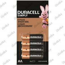 Элемент питания DURACEL Simple AA